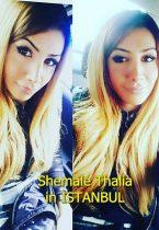 Shemale Thalia in İstanbul